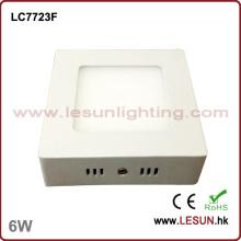 Luz de techo suspendida de 120 * 120 6W LED Squre (LC7723F)