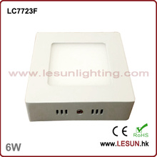 120*120 6W LED Squre Suspend Ceiling Light (LC7723F)