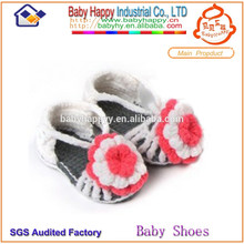 New style crib shoes baby sandal crochet baby shoes free