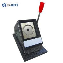 Cortadora manual del círculo del PVC del tamaño normal de la venta caliente / cortadora de la foto de escritorio