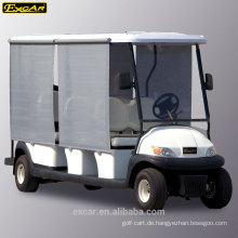 EXCAR 11 Sitzer Elektro-Golfwagen zum Verkauf elektrischer Sightseeing-Bus