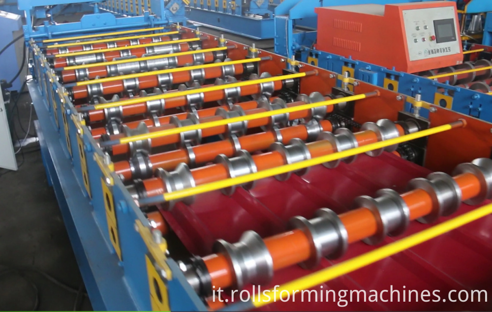 main roll forming machine