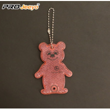 Acrylic colourful Bear Honey Key Chain