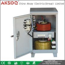 Atacado 10kw monofásico de alta precisão Auotomatic 220V 110V AC regulador de estabilizador de tensão para casa feita em Jingkesai