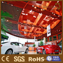 Public Decoration Material, Eco-Wood Ceiling, Factory Supply.