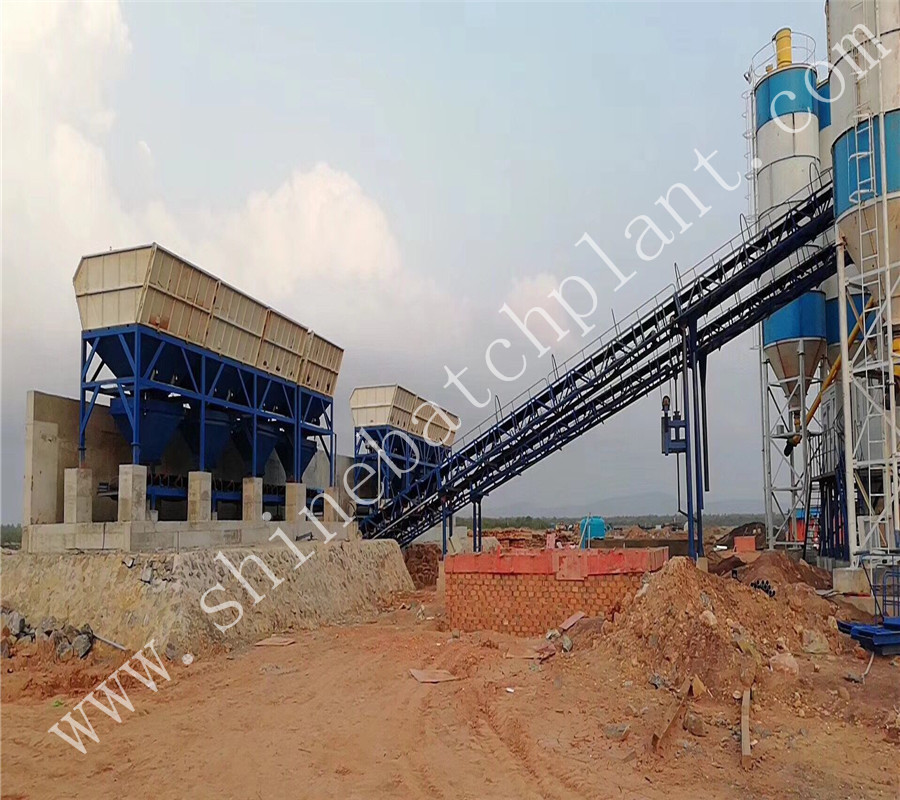 60 Concrete Mix Plant 01