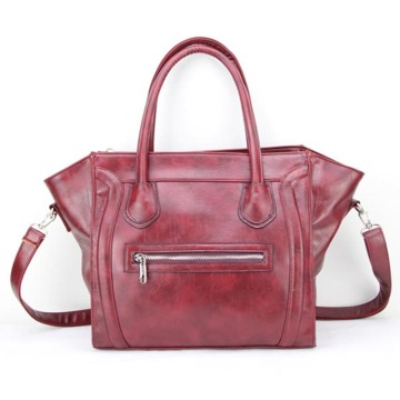 Luxury Design Professional Lady Leather Totes Handväskor