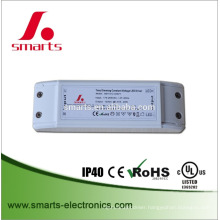 Input 90-265VAC to single output 12vDC 20w dimmable led driver