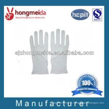 military white cotton parade gloves