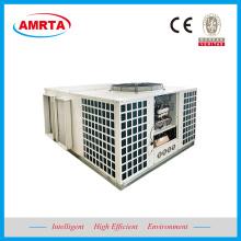 Acondicionador de aire acondicionado en la azotea con conductos de enfriamiento gratuito