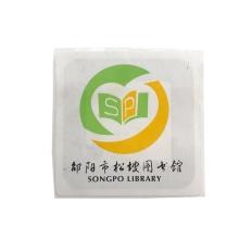 Etiqueta de papel adesivo flexível com chip I CODE