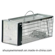 Piège à animaux pliable et cage