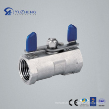 Stainless Steel 1PC Ball Valve with Wing Handle