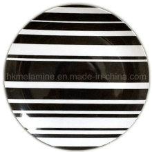 Placa de cena de la melamina 8inch con el logotipo