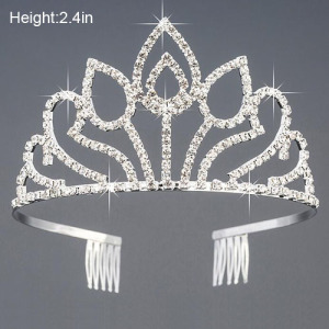 Wholesale Rhinestone Pageant Princess Crowns