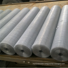 China Factory Cheap Galvanized Fabric Welded Mesh for Sale