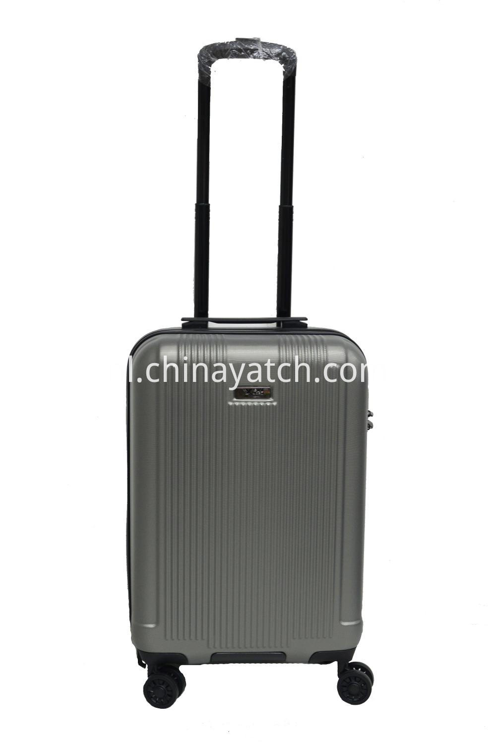 PET luggage with bottom handle