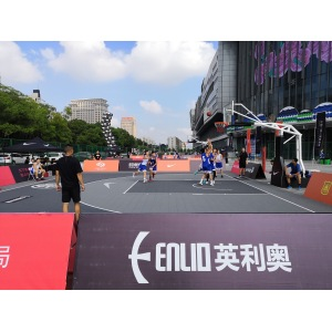 Outdoor PP Suspended Basketball Court Tile