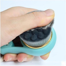Щетка для очистки лица с силиконовым покрытием Hot Sale Black