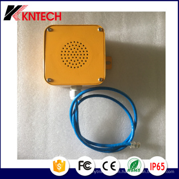 SIP Poe Loud Speaker with RJ45 Connector A4 Kntech
