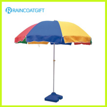 Paraguas de playa de la publicidad al aire libre 210d Oxford