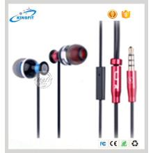 MP3 Metal in-Ear Deep Bass Headphone in-Ear Headset Earpiece