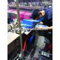 Cambio automático de lanzadera de telar de potencia a chorro de aire