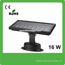 3 years warranty CE&ROHS AC85v-265v waterproof IP66 16W outdoor flood light led