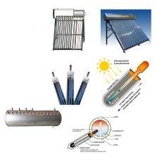 2015 calentador de agua solar de alta presión integrado de la presión con la pipa de calor de cobre