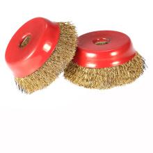 Preço de atacado escova redonda industrial para lavagem de ferrugem