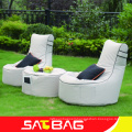 Fashion design outdoor bean bag chair without armrest