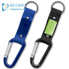 High quality no minimum custom logo printing polyester climbing hook wrist strap short carabiner lanyard keychain