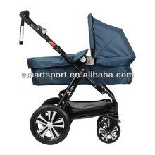 Baby Puppe Kinderwagen mit Autositz