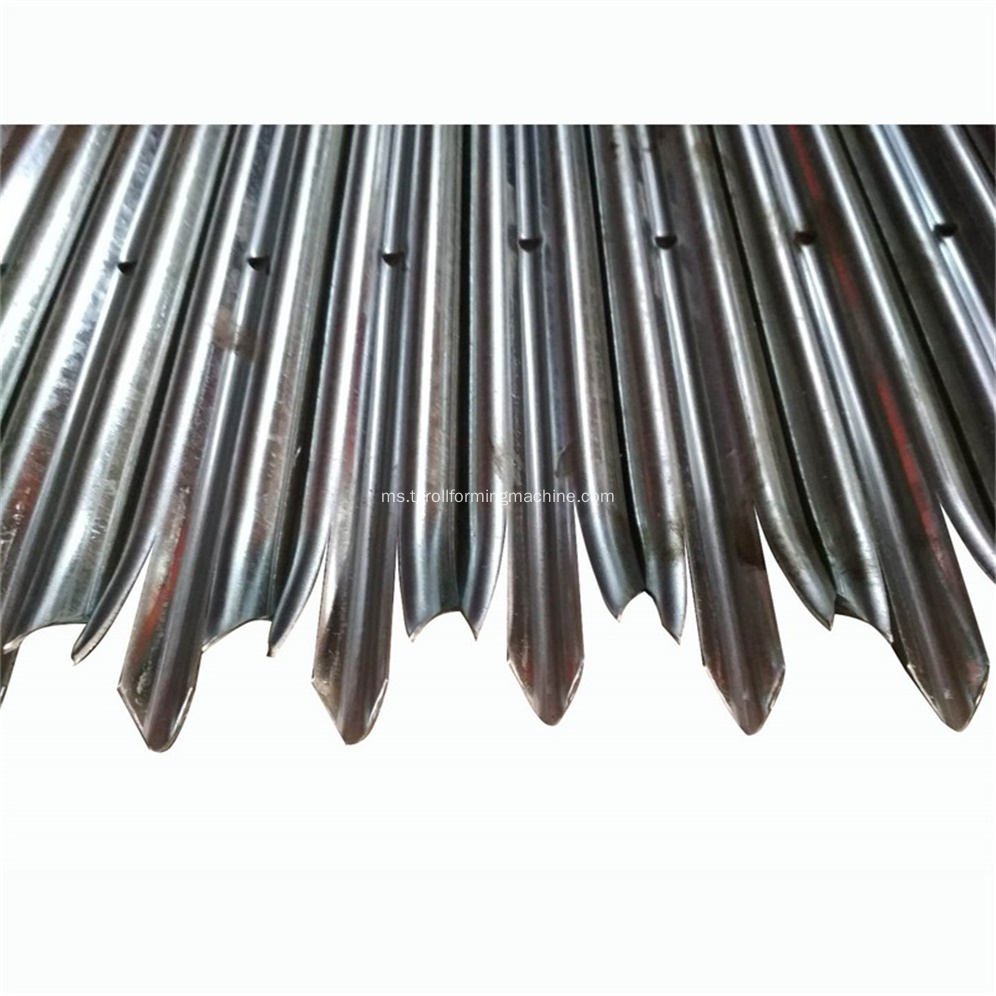 Mesin Galvanized Metal Palisade Hot Dipped Galvanized