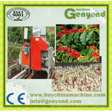 Tipo de electricidad Green Coffee Bean Peeling Machine