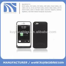 2200mAh Batterie externe pour batterie de secours pour iPhone 5c Noir