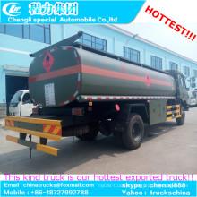 15000-16000liters transporte de óleo combustível tanque petroleiro caminhão para venda