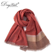 Wholesale Ladies Sexy Pashmina Scarves Shawl Woven Light 100 % Cashmere Scarf Winter