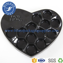 Accept Custom Size and Heart Shape Chocolate Tray