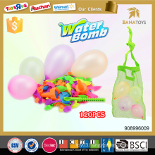 120pcs Rubber water balloon boobs set with filler