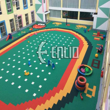 Enlio Outdoor Kids Parco giochi PP Sports Flooring