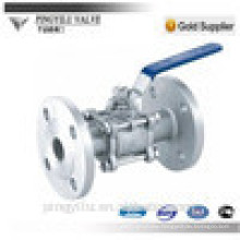 DN6-DN80 stainless 3pc 316 304 ball valve