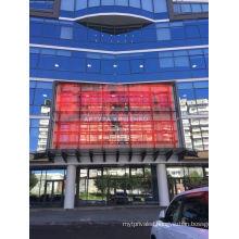 creative outdoor mesh led display