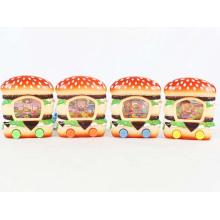Забавный Гамбургер Форма Пластик Кольцо Бросить Игра Воды (10178179)