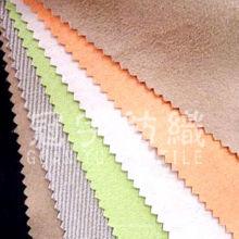 Tissu en daim polyester avec dos T / C pour housse de canapé