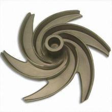 Roue de moulage en bronze personnalisée pour pompe à eau