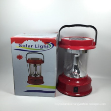 Manufacturer Wholesales Outdoor Camping Solar Lantern with LED Light