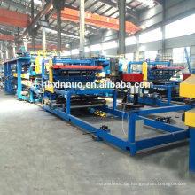 ISO-EPS-Wandplattenfertigungsstraße-Sandwichplattenproduktionsmaschine