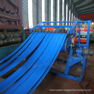 Automatic Hydraulic or Semi-automatic Slitter Steel Coil Simple Slitting Line