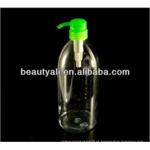 Garrafa de sabão líquido PET com 300ml de capacidade, vários tamanhos e cores disponíveis